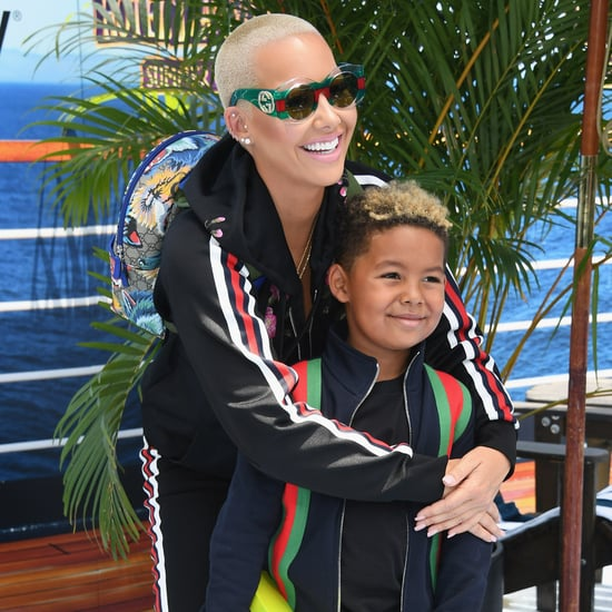 Amber Rose on Letting Her Son Curse