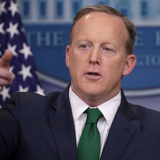 Sean Spicer Green Tie Photoshop