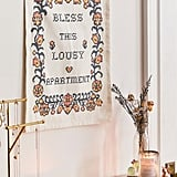 Bless This Lousy Apartment Flag Tapestry