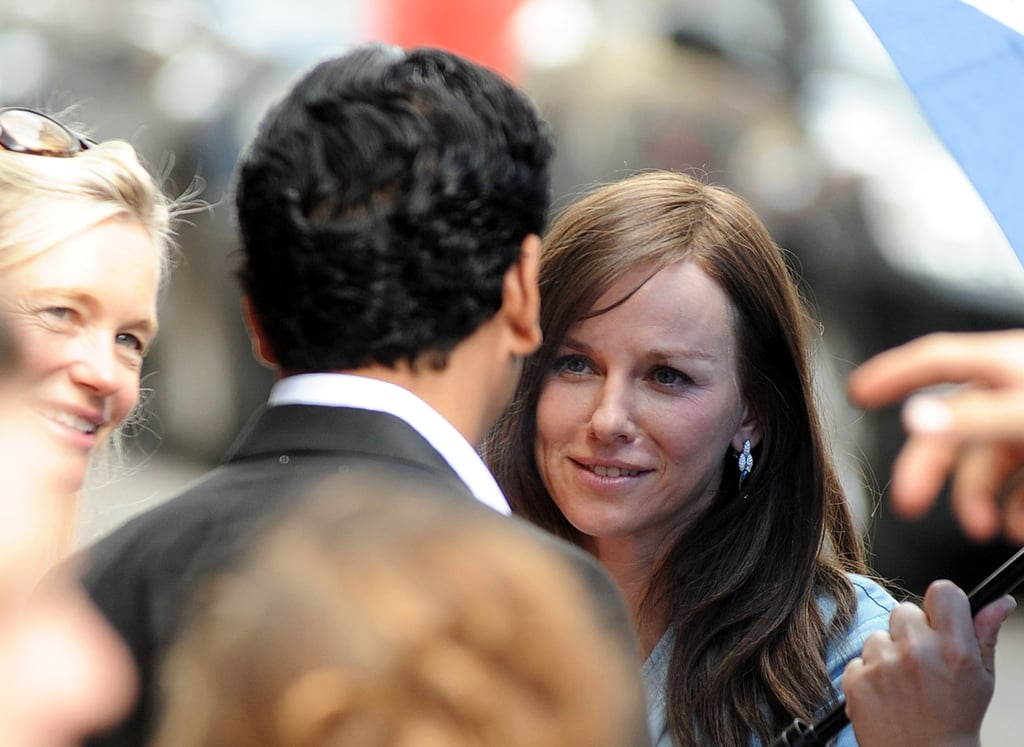 Naomi Watts and Naveen Andrews filmed a scene together.