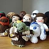 Star Wars Crocheted Plush Toys