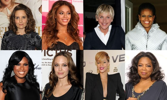 Who Is the Best Female Role Model of 2009?