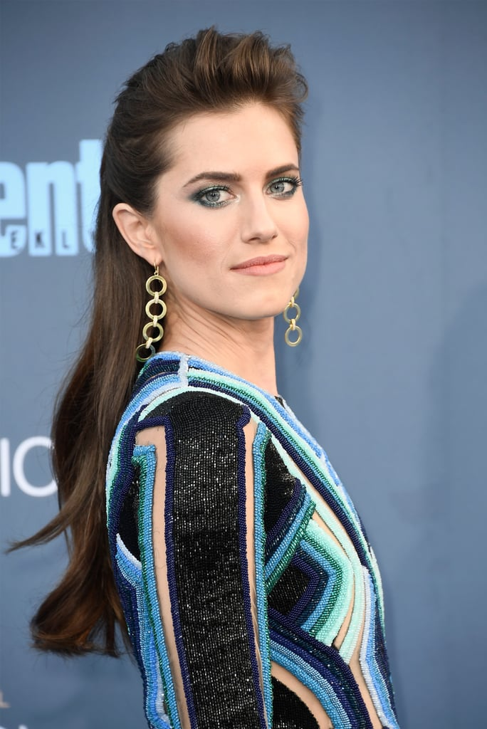 Allison Williams-Golden Globes 2017-makeup trends