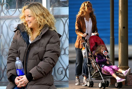 Photos of Kate Hudson on the set of Earthbound in New Orleans