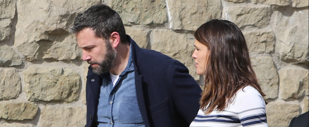Jennifer Garner and Ben Affleck at Church January 2019