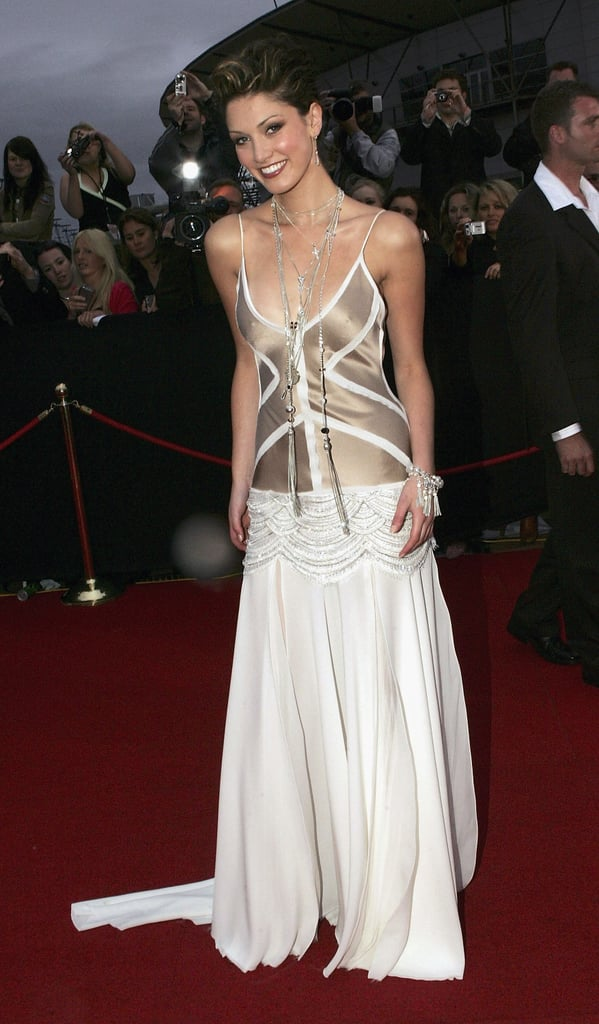 Delta made a sexy comeback to the ARIA Awards in Oct. 2004.