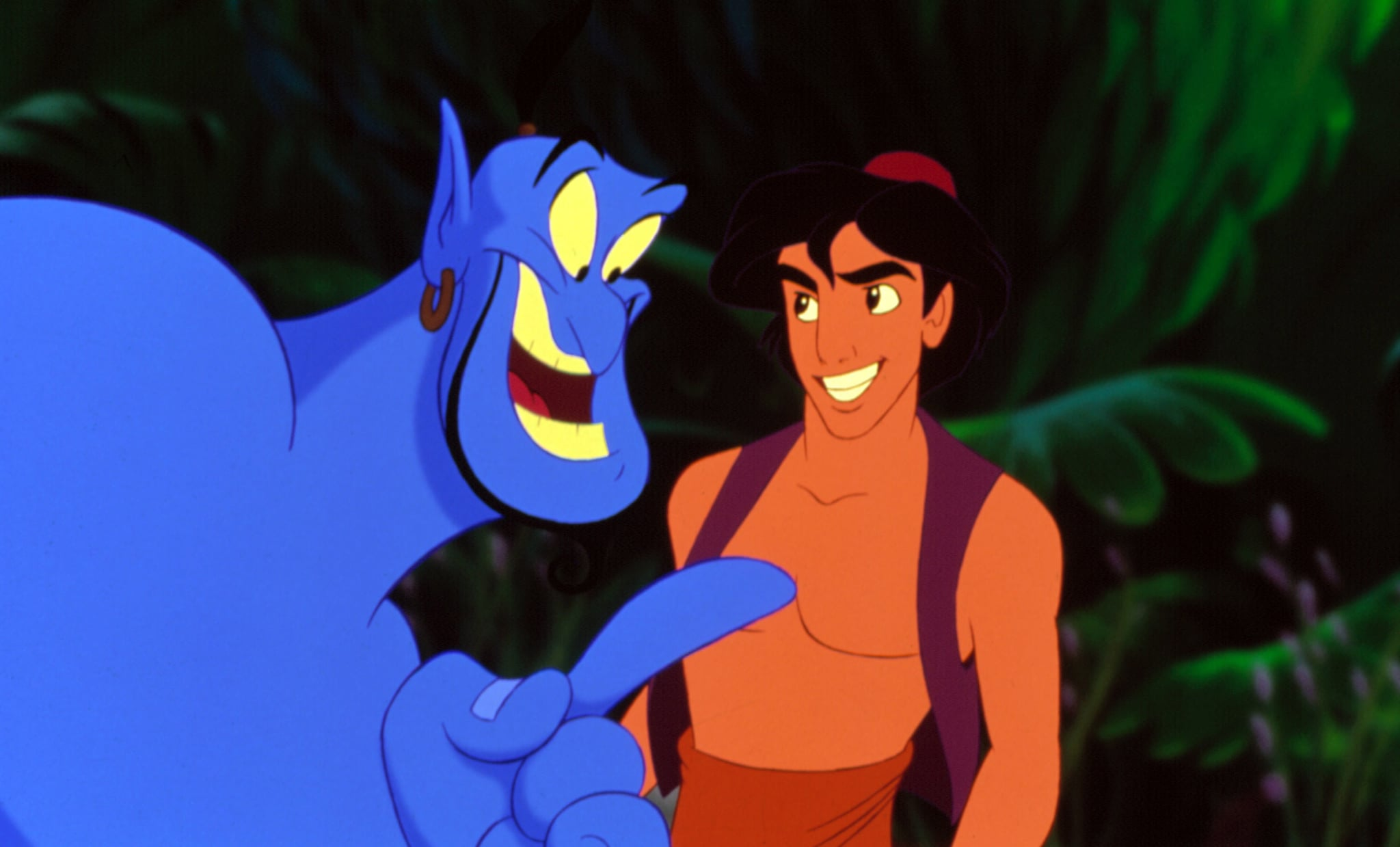 ALADDIN, Genie, Aladdin, 1992. (c) Walt Disney/ Courtesy: Everett Collection.