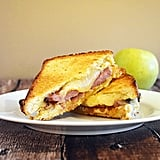 Meal: Root-Beer-Glazed Ham Melt With American Cheese and Apple Compote