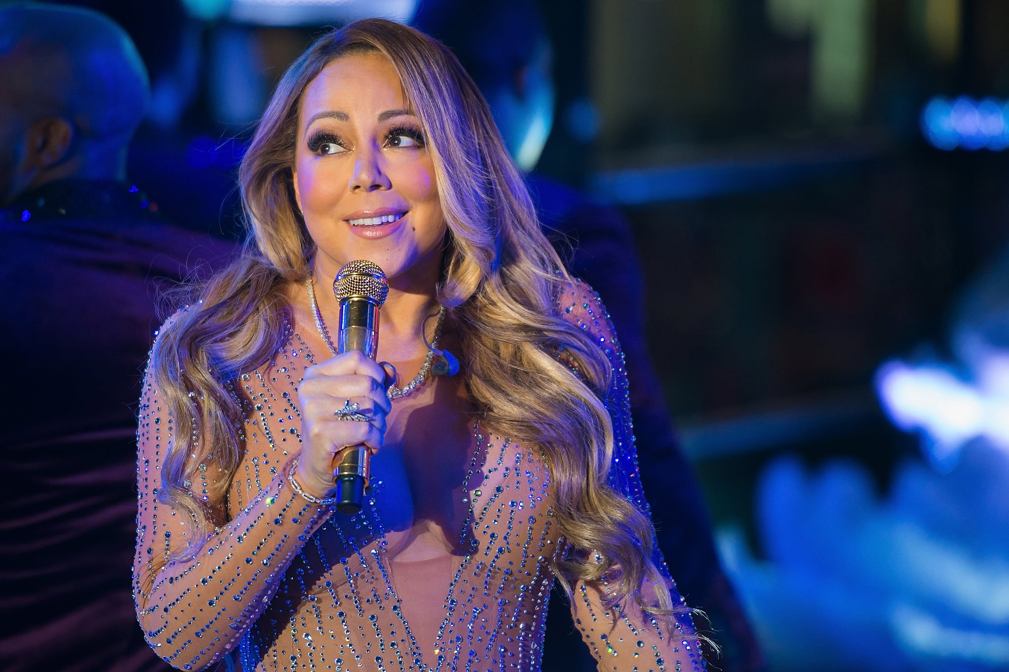 Mariah Carey Responds to the FaceApp Challenge With a Hilarious Meme — of Herself
