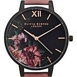 Olivia Burton After Dark Leather Strap Watch