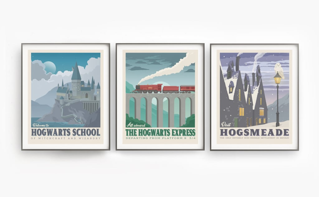 Harry Potter Poster Set ($22)