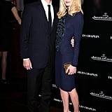 Kate Bosworth and Michael Polish arrived at a tribute to Sir Charles Chaplin by Carmen and Dolores Chaplin.