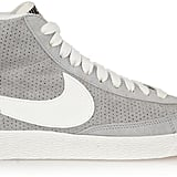 Nike Blazer Perforated Suede High-Top Sneakers ($100)