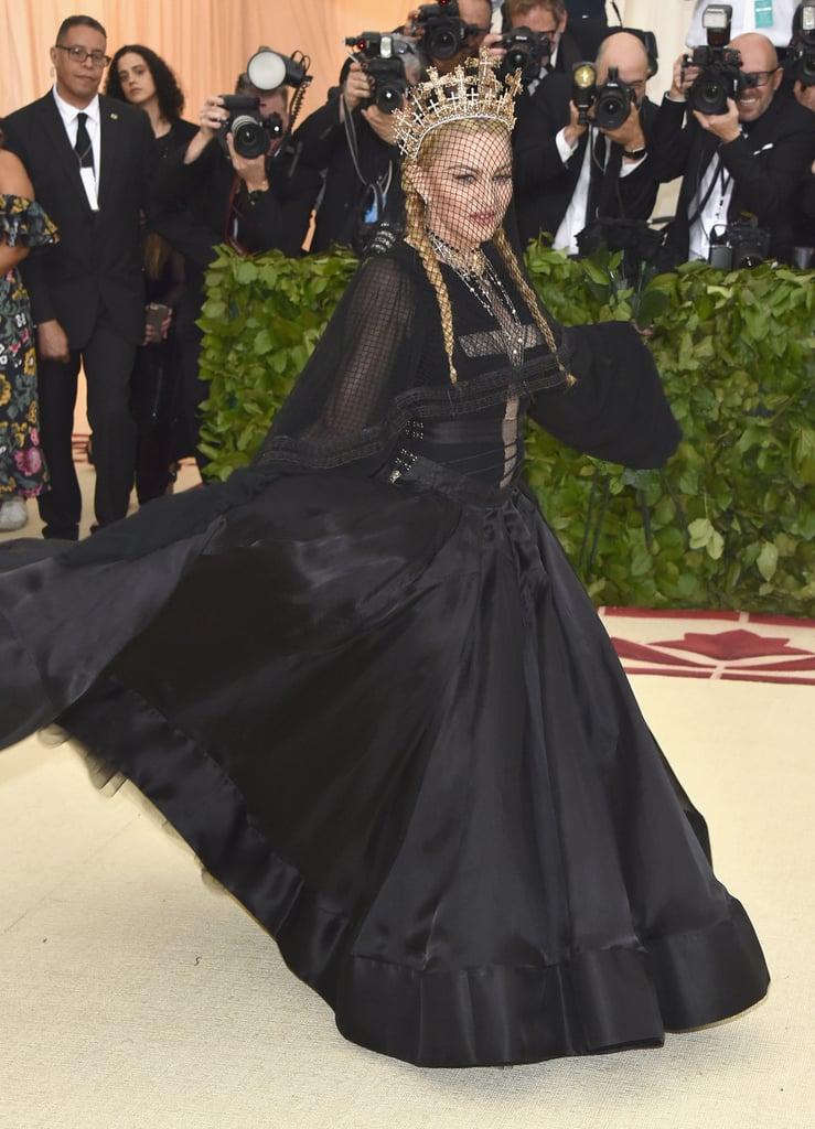 Madonna Jean Paul Gaultier Met Gala Dress 2018