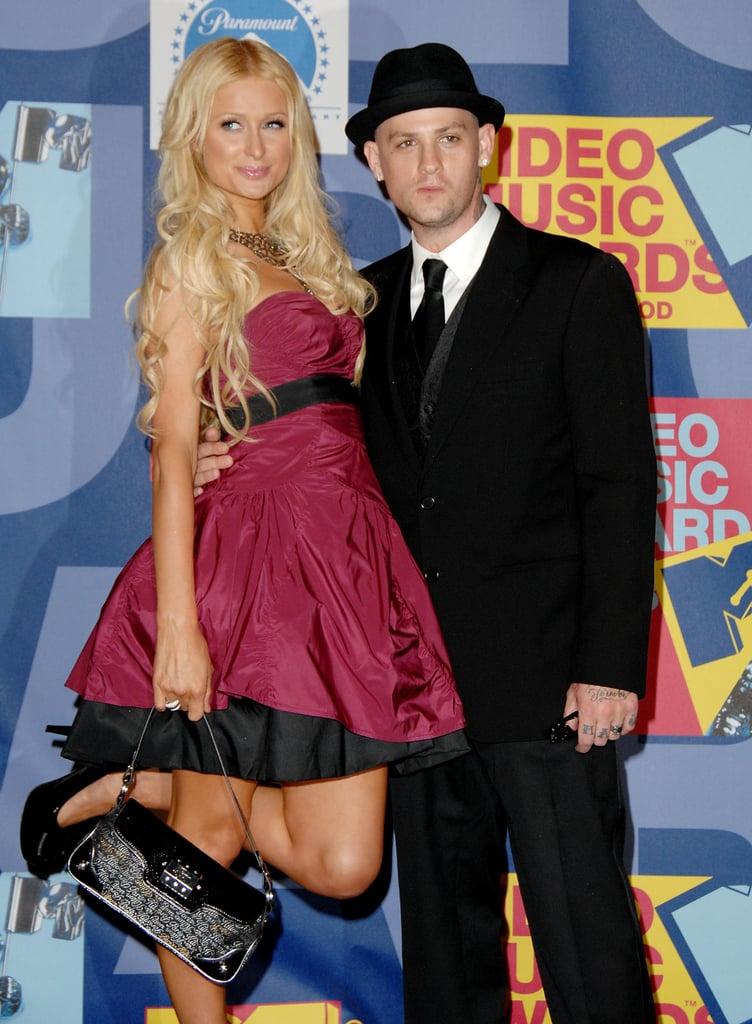 Paris Hilton and Benji Madden, 2008