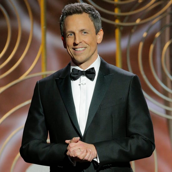 Seth Meyers's Harvey Weinstein Joke at the Golden Globes