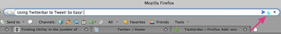 Use Twitterbar to Post Tweets From Your Firefox Address Bar