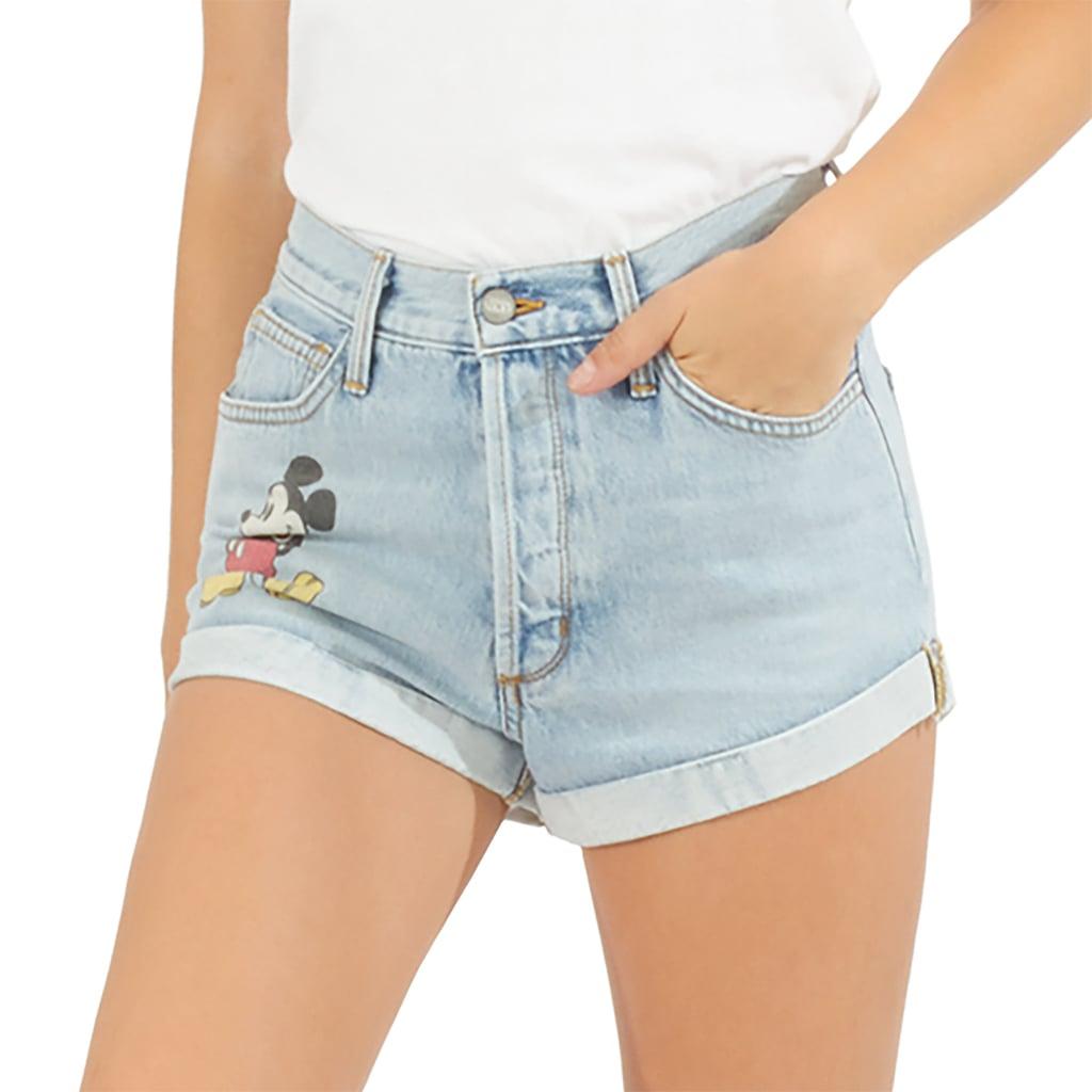 aadd3550ba Mickey Mouse Denim Shorts by SIWY ($170) | Disney SIWY Denim ...