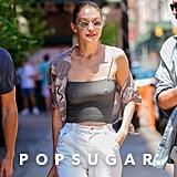 Gigi Hadid's Ribbed Tank Top in New York 2018
