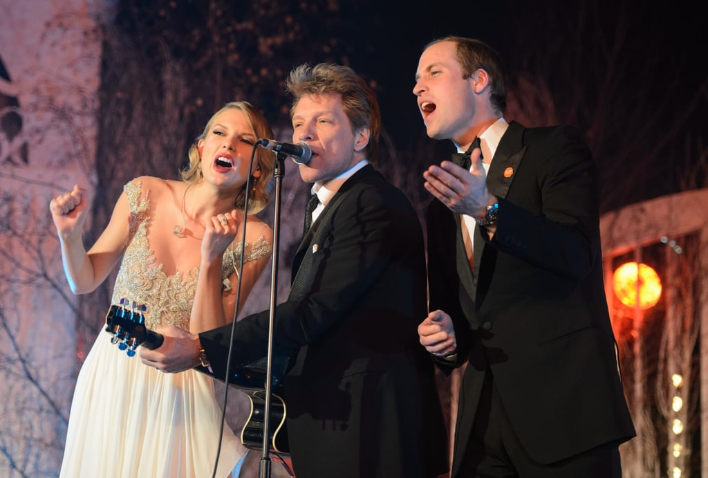 She Sang With Prince William and Jon Bon Jovi . . .