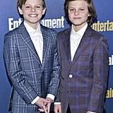 Nicholas and Cameron Crovetti at EW's 2020 SAG Awards Preparty