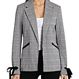 Bagatelle Glen Plaid Open Blazer Women