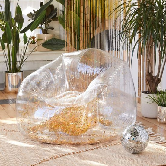Urban Outfitters Inflatable Glitter Chair