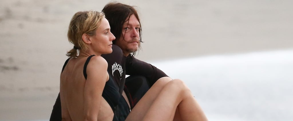 Diane Kruger and Norman Reedus in Costa Rica August 2017