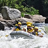 Whitewater Raft in the Poconos