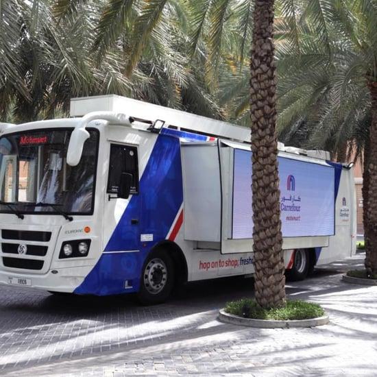 كارفور الإمارات تطلق متجر موبي مارت المتنقل على متن حافلة