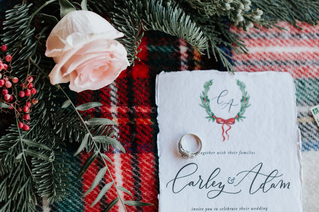 Christmas Themed Wedding Ideas Popsugar Love Sex Photo 9
