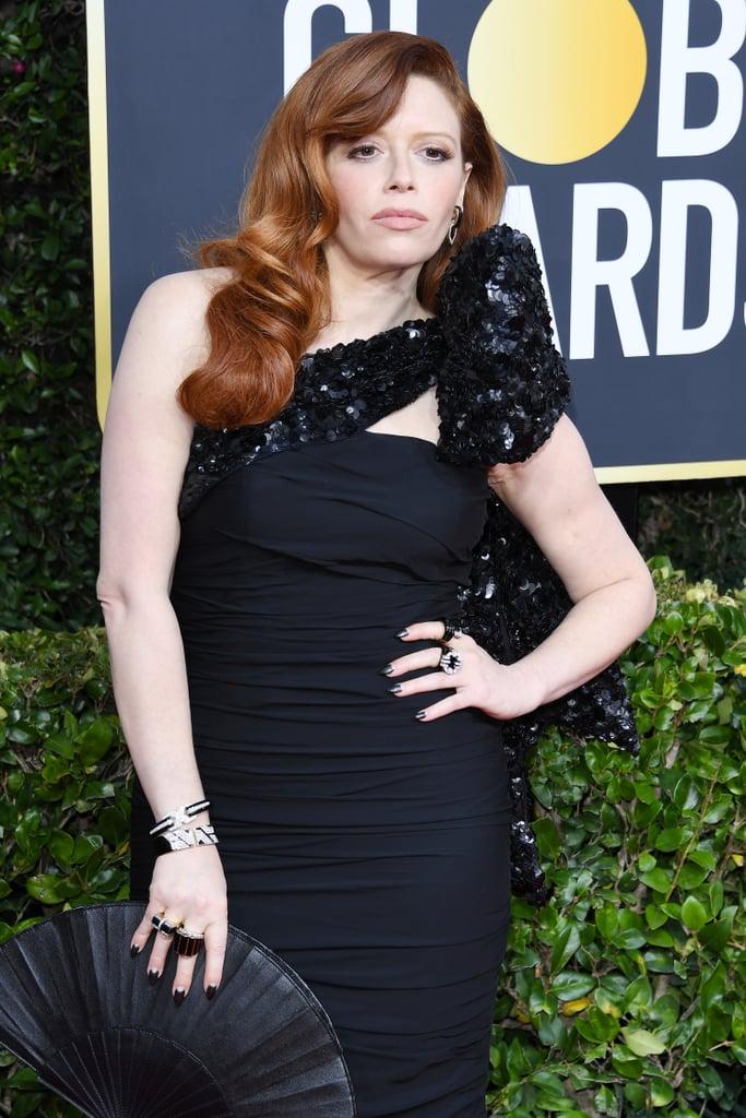 Natasha Lyonne's Half-Moon Manicure at the 2020 Golden Globes