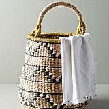 Handmade Tambourine Basket