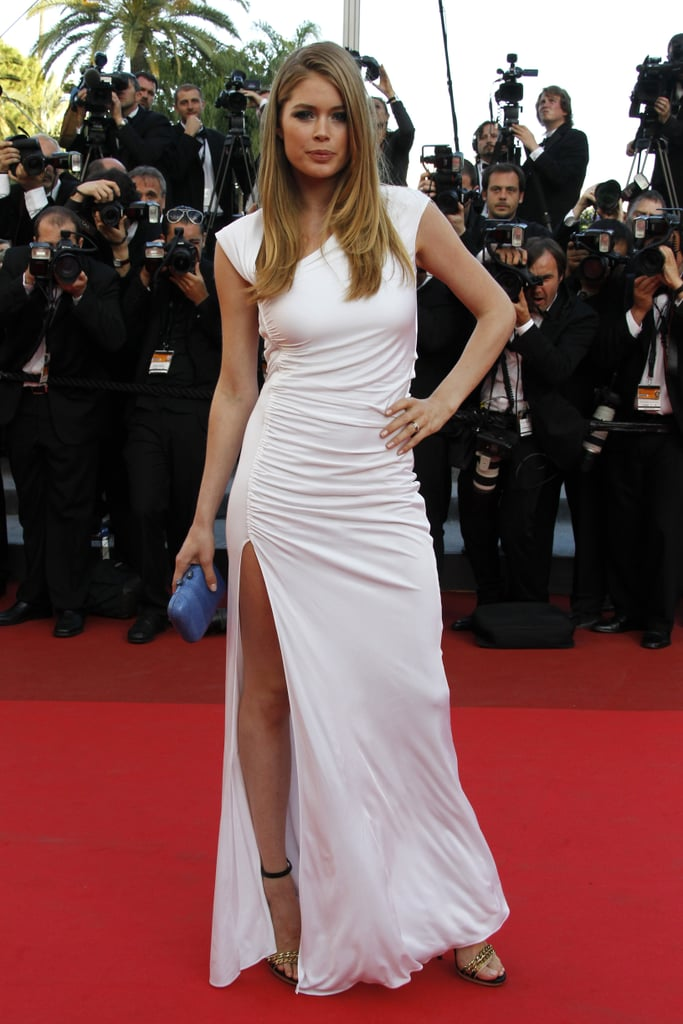Doutzen Kroes at a screening of The Beaver at the Cannes Film Festival in May 2011.