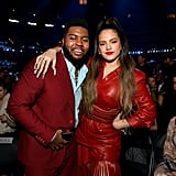 Khalid and Rosalía at the 2020 Grammys