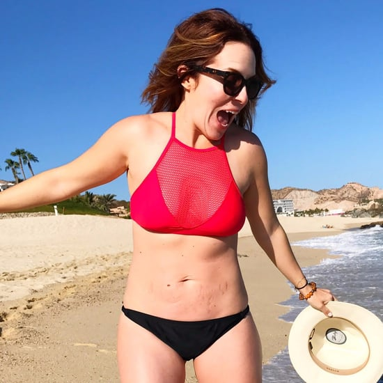 Rachel Hollis Postpartum Bikini Photo