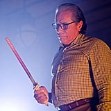 Edward James Olmos as Professor Gellar on Dexter.  Photo courtesy of Showtime