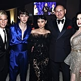 Drew Elliot, Troye Sivan, Alexa Demie, John Demsey, Dita Von Teese at the Elton John Oscars Party