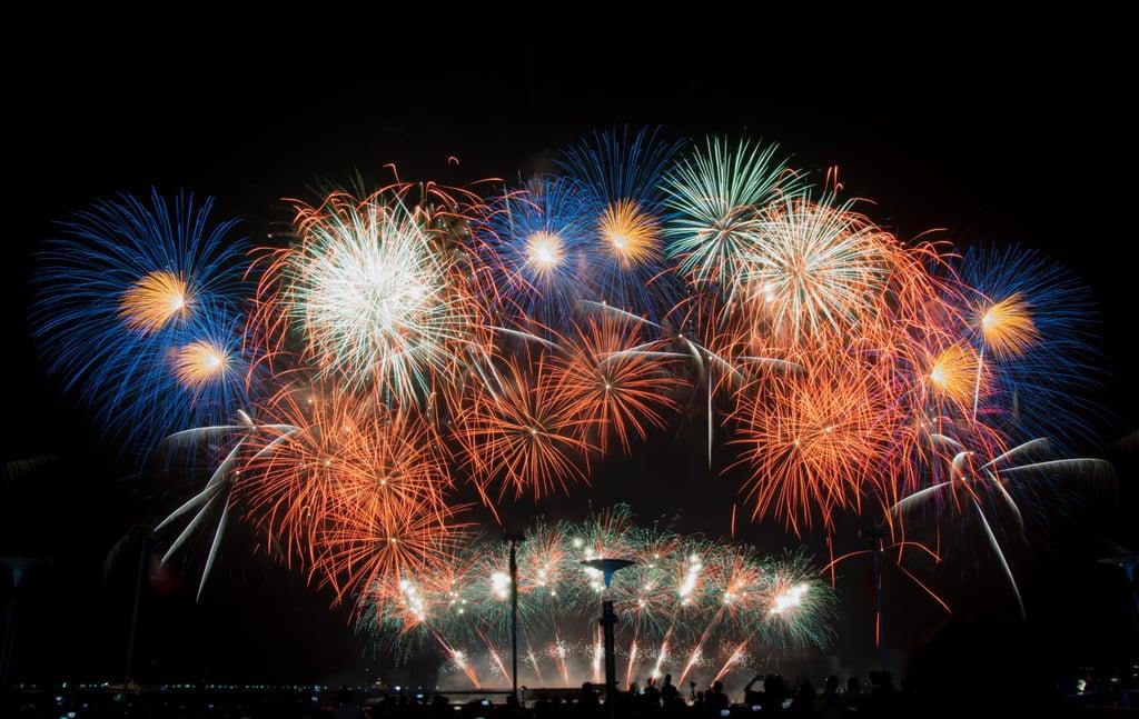 Watch fireworks.