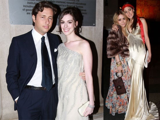 Anne Hathaway and Mary-Kate Olsen At The Annual Winter Dance at the American Museum of Natural History