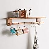 Carla Multi-Hook Wall Shelf