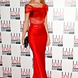 Rosie glammed up for the 2010 Elle Style Awards in a Dior look that was hot off the catwalk.
