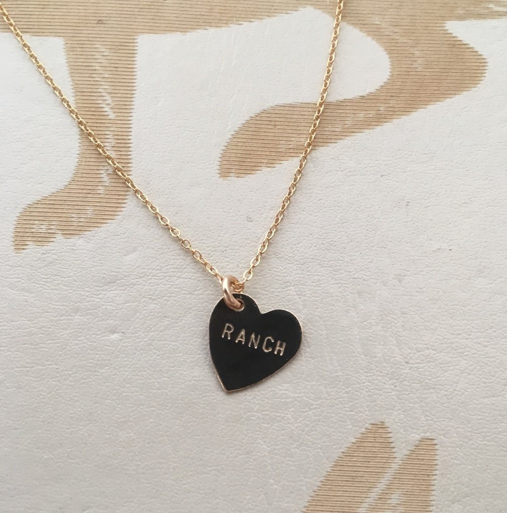 Ranch Heart Charm Necklace