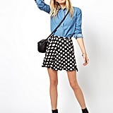 We heart this ASOS skater skirt ($27).