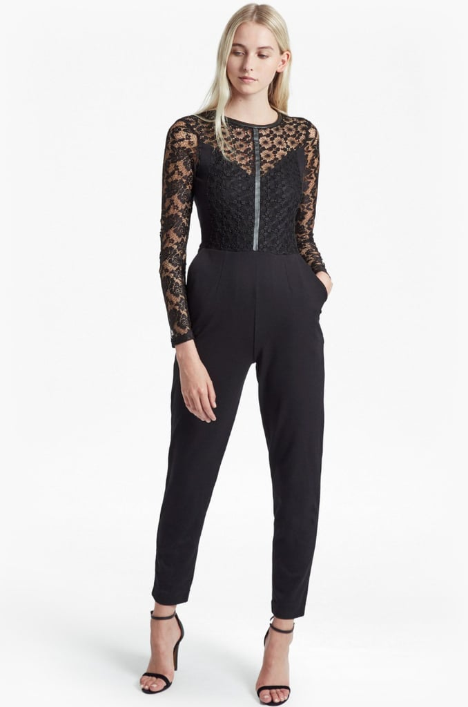 e9c4f1550478 French Connection Hannah Beau Long Sleeved Jumpsuit