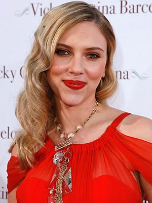Scarlett Johansson's Red Lips