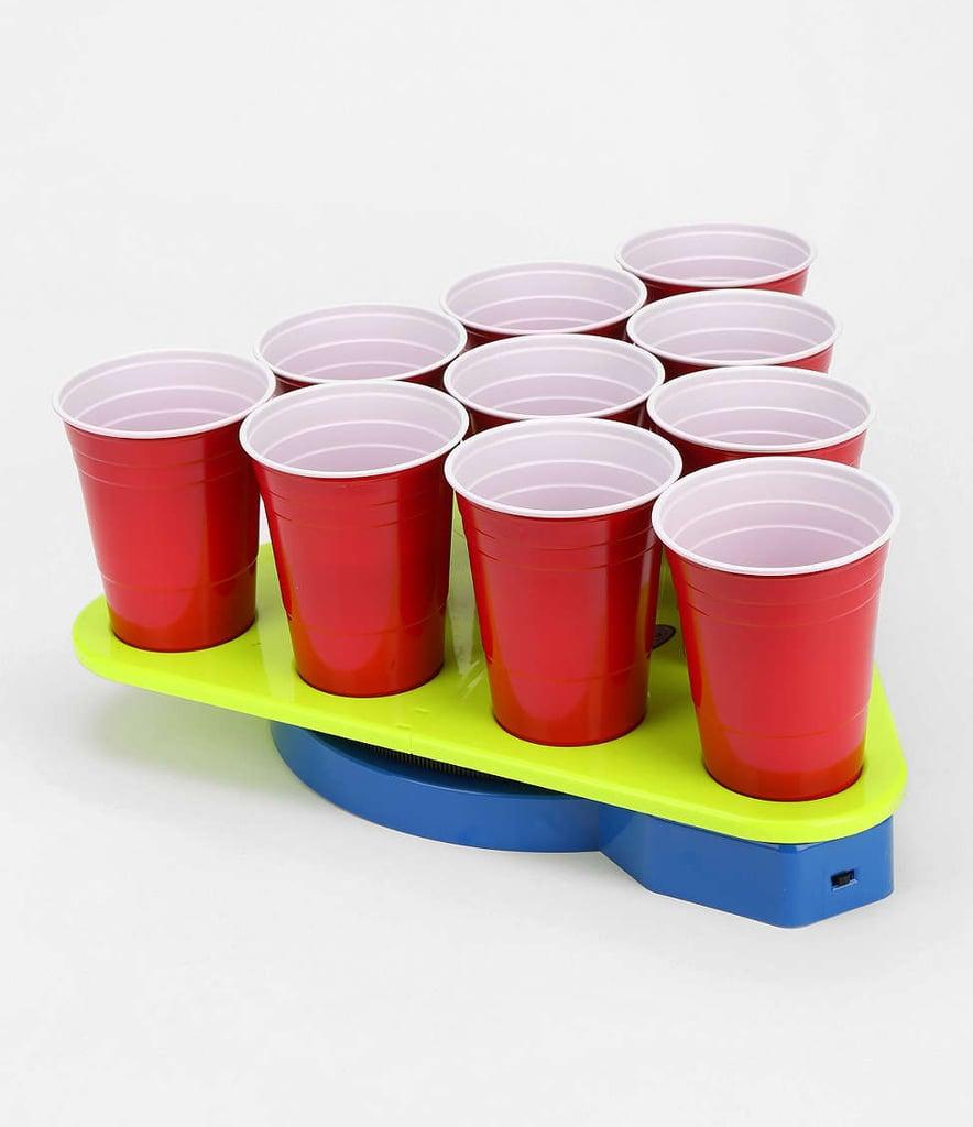Freezable Beer Pong Rack Set