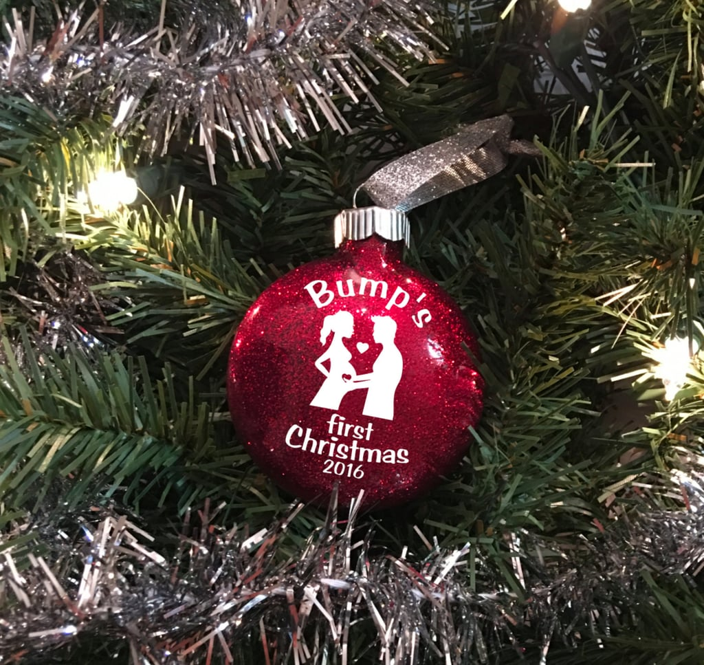 Bump's First Christmas Ornament