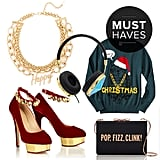 Aside from all the holiday gift giving, you still have to pick up a few things for yourself, right? That's why POPSUGAR Fashion has rounded up our favorite pieces, from adorable outerwear options that will get you through the ever-dropping temperatures all the way to Christmas sweaters and New Year's Eve statement necklaces.