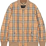 Burberry Plaid Jacket